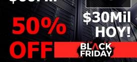 Black Friday Todos los días hasta el 30 de Noviembre!